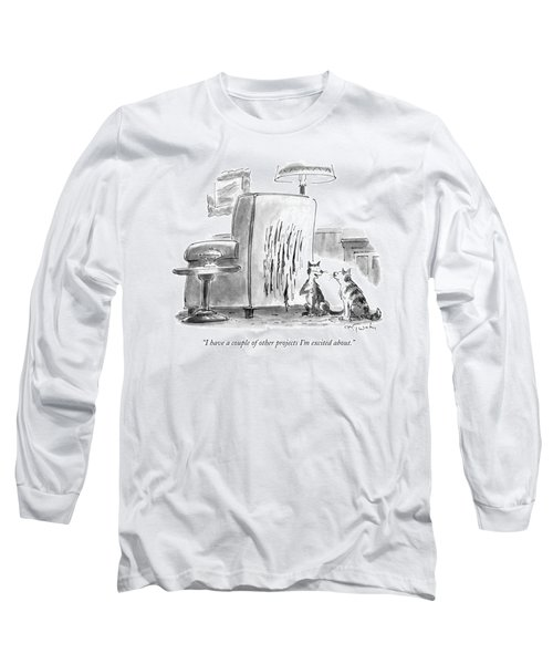 I Have A Couple Of Other Projects I'm Excited Long Sleeve T-Shirt