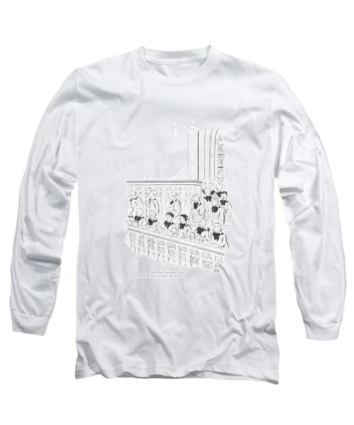 I Hear There's A Talent Scout From Western Union Long Sleeve T-Shirt