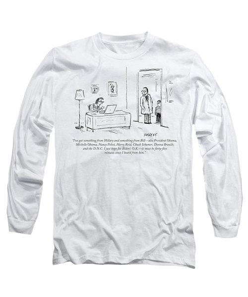 I Just Hope Joe Biden's Ok Long Sleeve T-Shirt