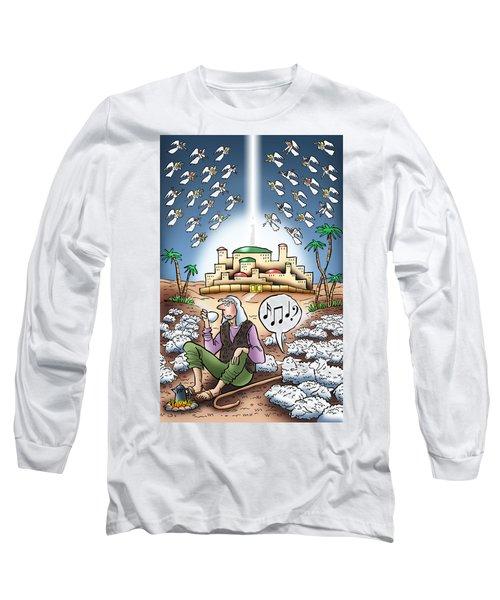 I Keep Hearing Music Long Sleeve T-Shirt