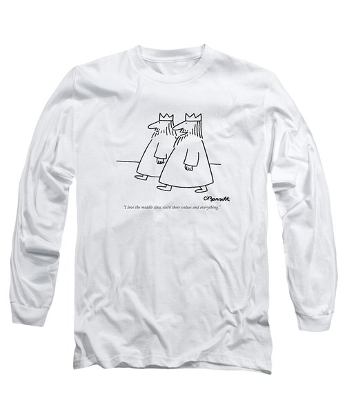 I Love The Middle Class Long Sleeve T-Shirt