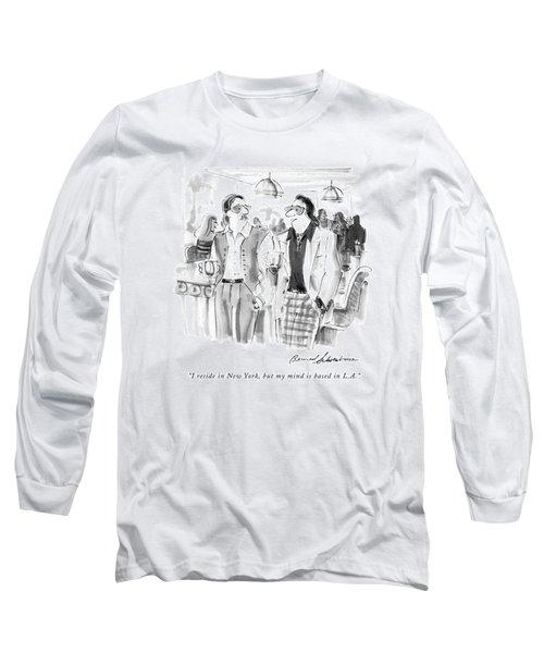 I Reside In New York Long Sleeve T-Shirt