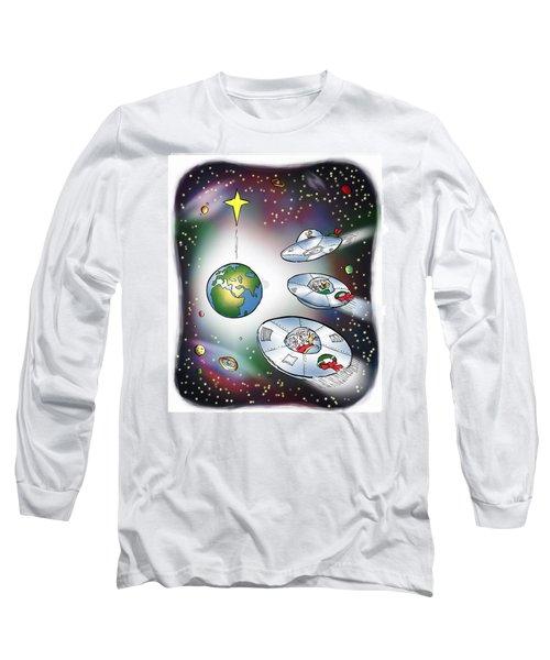 We Three Spacemen Long Sleeve T-Shirt