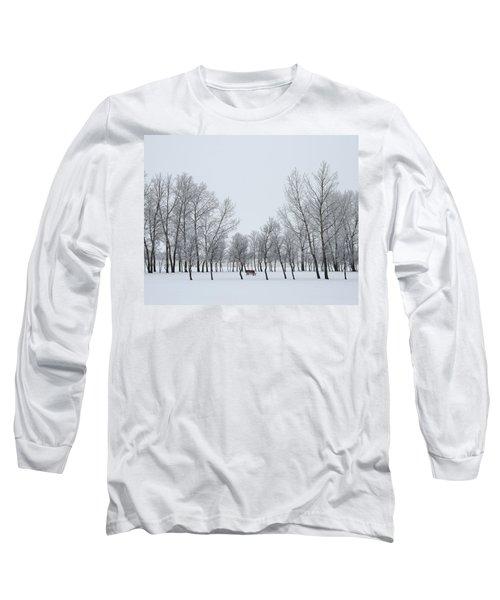I Sit Alone Long Sleeve T-Shirt