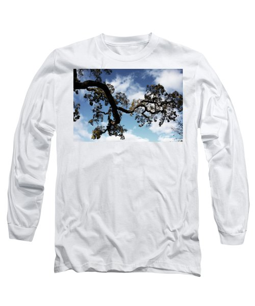 I Touch The Sky Long Sleeve T-Shirt by Laurie Search