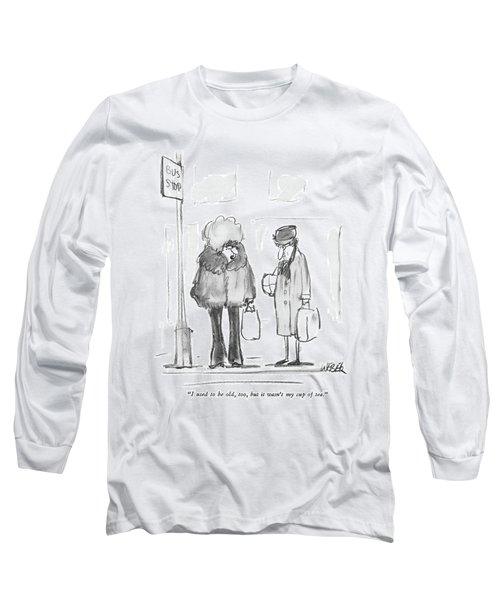 I Used To Be Old Long Sleeve T-Shirt