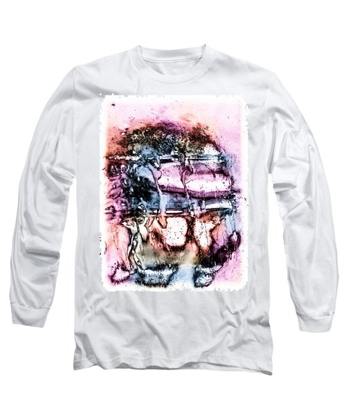 Ice Number Three Long Sleeve T-Shirt by Bob Orsillo