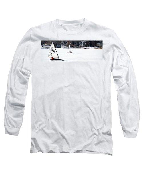 Ice Yacht Race Long Sleeve T-Shirt