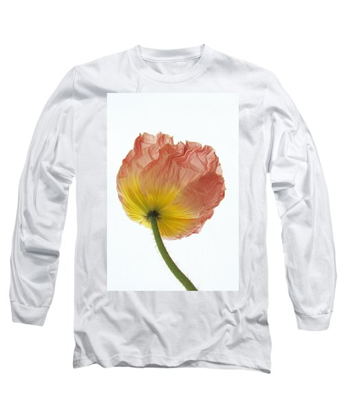 Iceland Poppy 1 Long Sleeve T-Shirt by Susan Rovira