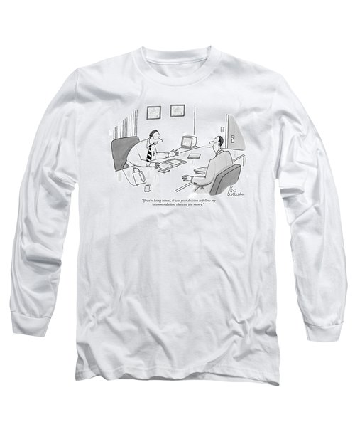 If We're Being Honest Long Sleeve T-Shirt