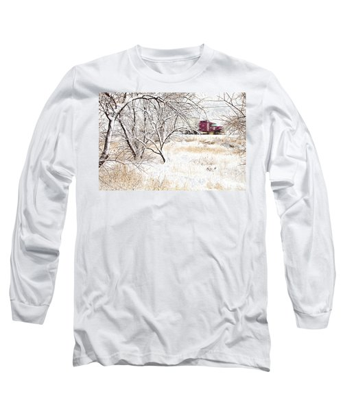 I'll Be Home For Christmas Long Sleeve T-Shirt