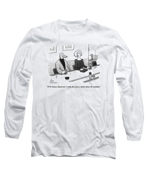 I'll Be Honest Long Sleeve T-Shirt