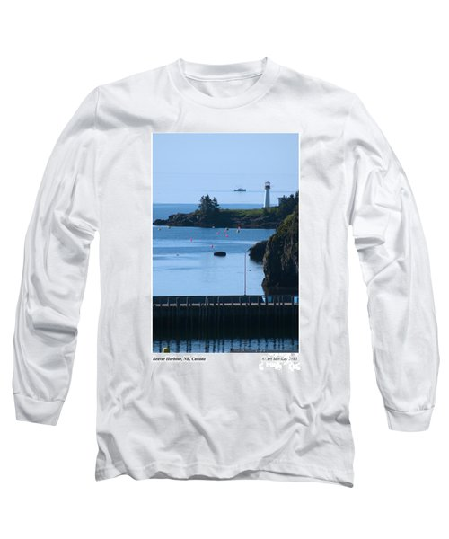Illusion At Beaver Harbour Light Long Sleeve T-Shirt