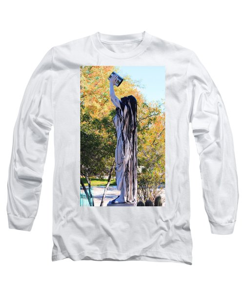Immersed In Paint Long Sleeve T-Shirt