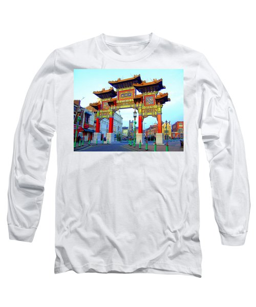 Imperial Chinese Arch Liverpool Uk Long Sleeve T-Shirt