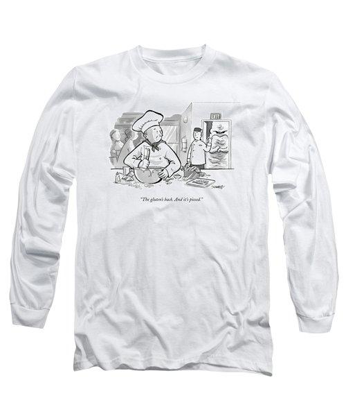 In A Baker's Kitchen Long Sleeve T-Shirt