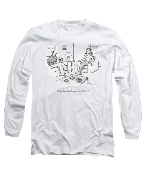 In A Living Room Long Sleeve T-Shirt