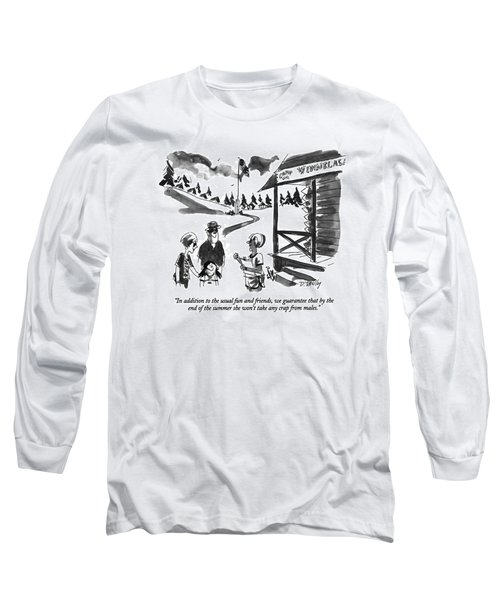 In Addition To The Usual Fun And Friends Long Sleeve T-Shirt