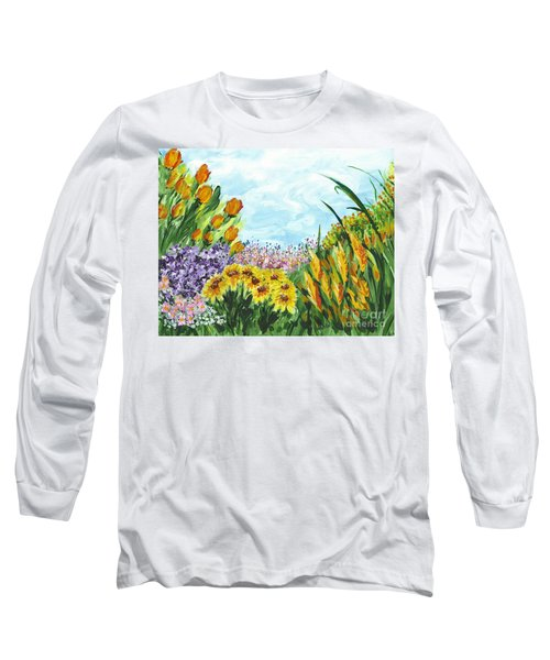 In My Garden Long Sleeve T-Shirt