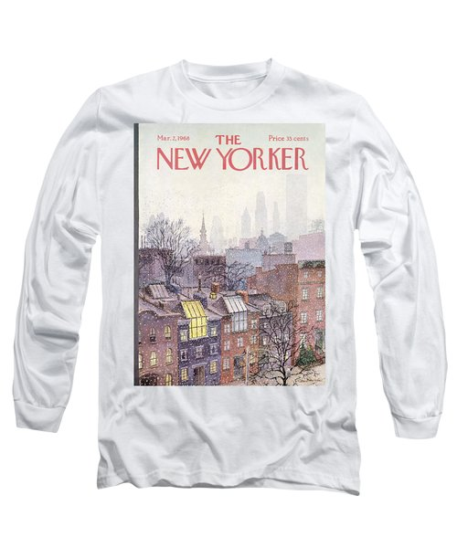 New Yorker March 2, 1968 Long Sleeve T-Shirt