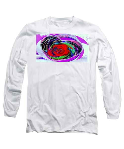 Long Sleeve T-Shirt featuring the painting In The Box by Catherine Lott