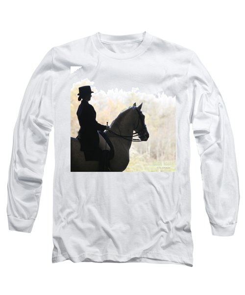 In The Distance Long Sleeve T-Shirt by Carol Lynn Coronios