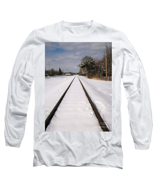 Long Sleeve T-Shirt featuring the photograph In The Distance by Sara  Raber