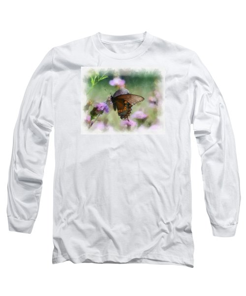 In The Flowers Long Sleeve T-Shirt by Kerri Farley
