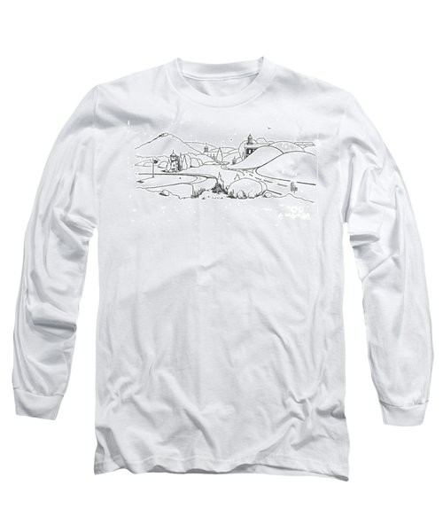 In The Land Of Brigadoon  Long Sleeve T-Shirt by Kip DeVore