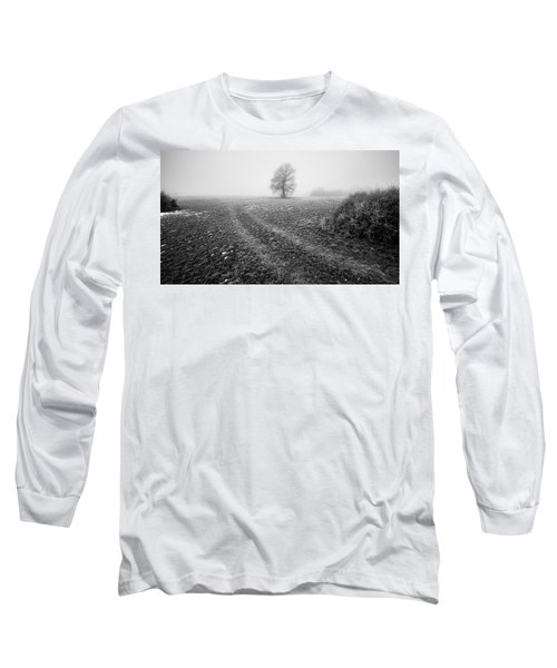 Long Sleeve T-Shirt featuring the photograph In The Mist by Davorin Mance