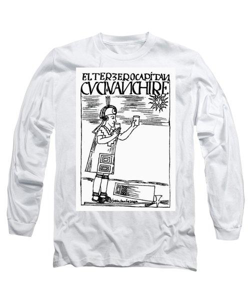 Inca Sun Worship Long Sleeve T-Shirt