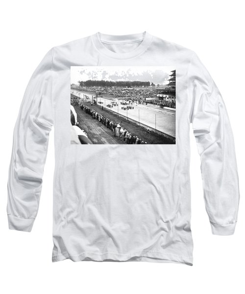 Indy 500 Auto Race Long Sleeve T-Shirt