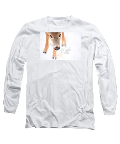 Innocent Eyes Long Sleeve T-Shirt by Karol Livote