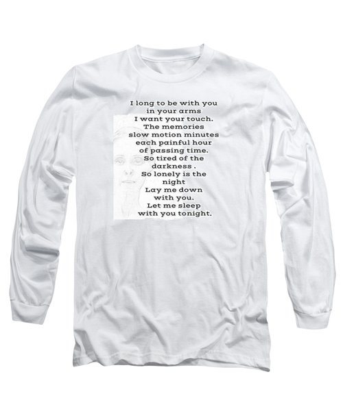 Insomnia  Long Sleeve T-Shirt by Lisa Piper