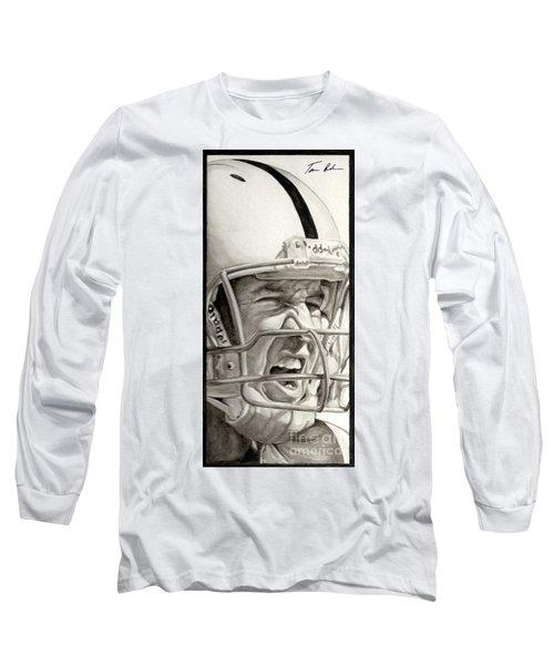 Intensity Peyton Manning Long Sleeve T-Shirt by Tamir Barkan