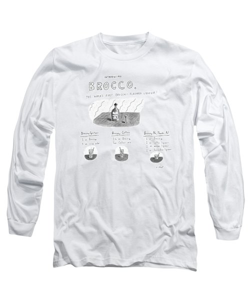 Introducing Brocco. The World's First Long Sleeve T-Shirt by Roz Chast
