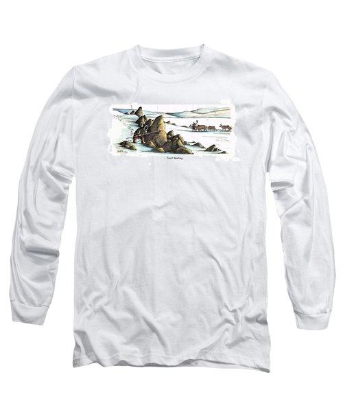 Inuit Waiting Long Sleeve T-Shirt