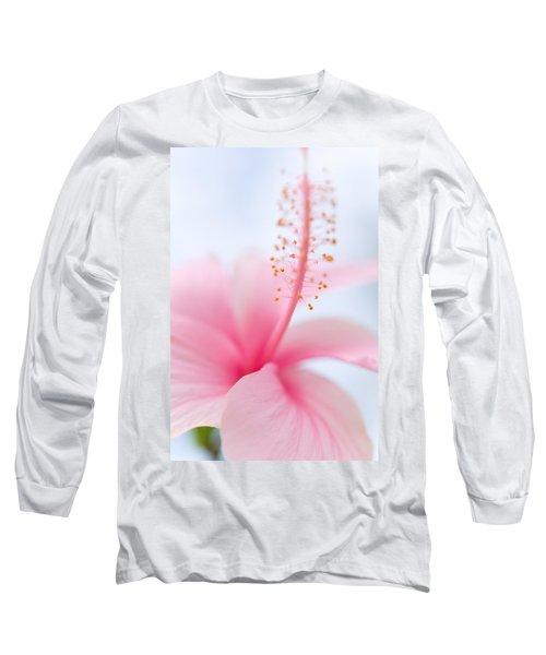 Invitation Into The Light Long Sleeve T-Shirt by Jenny Rainbow
