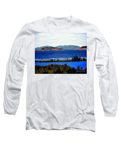 Iona Formerly Rams Islands Long Sleeve T-Shirt by Barbara Griffin