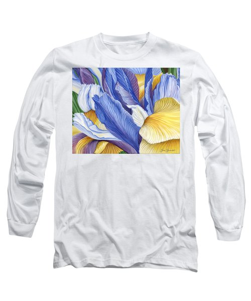 Iris Long Sleeve T-Shirt by Jane Girardot