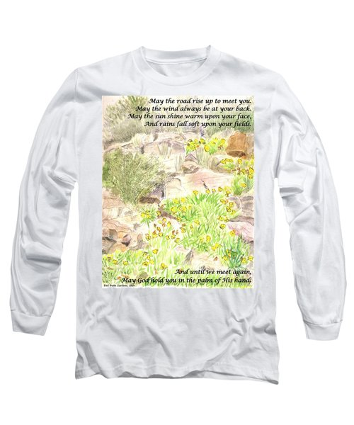 Irish Blessing Long Sleeve T-Shirt