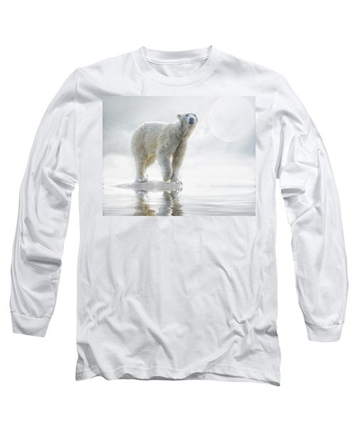 Is Anyone Out There? Long Sleeve T-Shirt by Brian Tarr