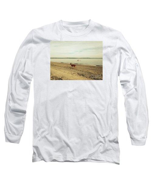 Island Deer Long Sleeve T-Shirt