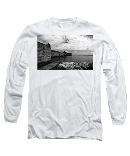 Island Fortress  Long Sleeve T-Shirt