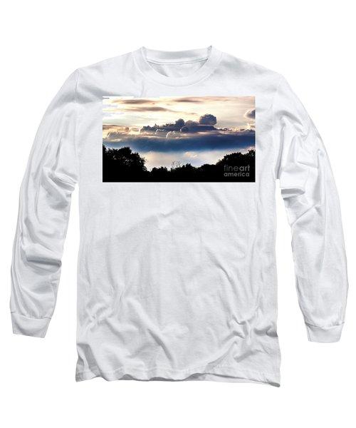 Island Of Clouds Long Sleeve T-Shirt by Daniel Heine