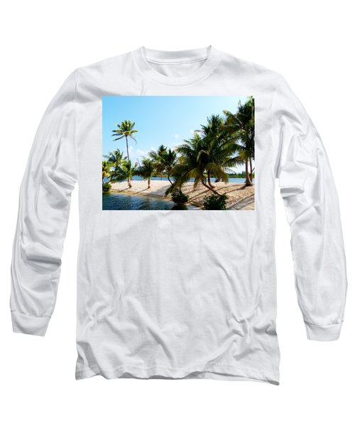 Long Sleeve T-Shirt featuring the photograph Isle @ Camana Bay by Amar Sheow