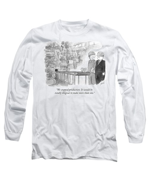 It Would Be Totally Illogical To Make More Than Long Sleeve T-Shirt