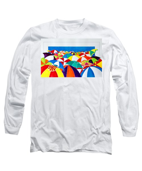 Italian Beach Long Sleeve T-Shirt