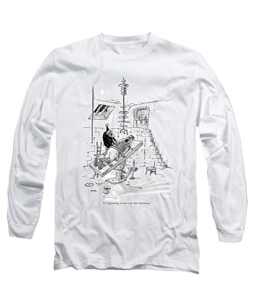 It's Beginning To Look A Lot Like Christmas Long Sleeve T-Shirt