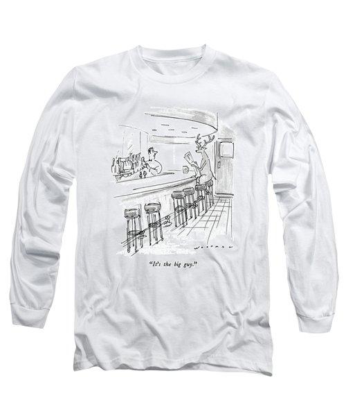 It's The Big Guy Long Sleeve T-Shirt